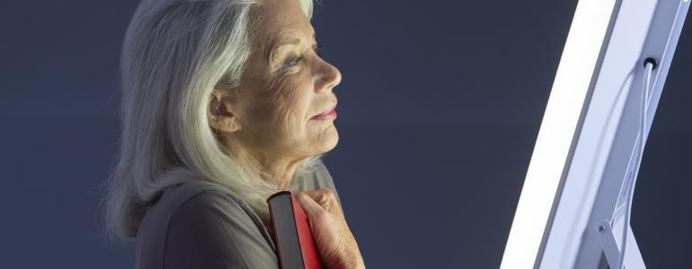 Licht therapie parkinson patienten