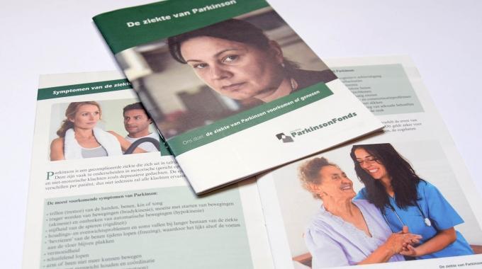 Brochure over de ziekt evan Parkinson